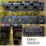 Головка блока ЯМЗ-534 в сборе с клапанами (с отверстием под  ЕВРО-5 (5340.1003010-20) 53443-1003010